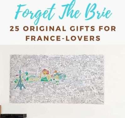 Forget The Brie, these are 25 gifts France-lovers actually want