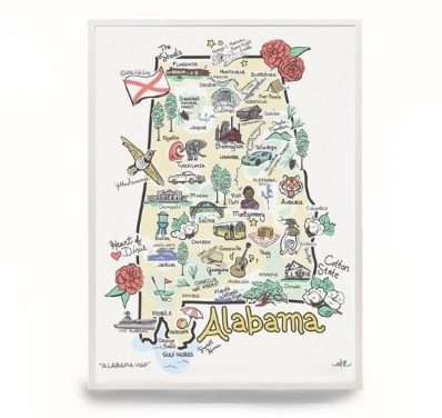 25 Sweet Home Alabama Gifts For Travelers